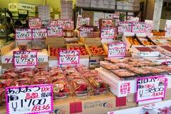 Tsukiji鱼市 免版税库存照片