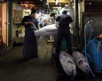 Tsukiji Fischmarkt Lizenzfreie Stockfotos