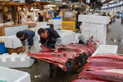 Tsukiji Fish Market Stock Photo