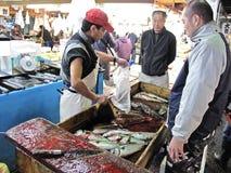 Tsukiji Fish Market Tokyo Royalty Free Stock Images