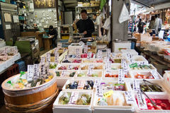 Tsukiji Fish Market Royalty Free Stock Photography