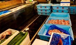 Tsukiji Fish Market Tokyo Stock Photo