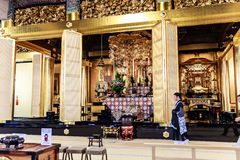 Tsukiji Hongan-ji temple Royalty Free Stock Images