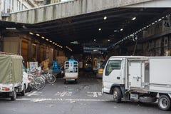 Tsukiji market transportation logistic delivery system Stock Photography