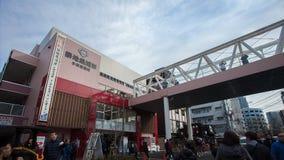 Tsukiji marknad Fotografering för Bildbyråer