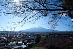 TSUKIJI Tokyo , Japan - November 13,2017 : Fresh oyster and sauces , sea shell ,Japan popular seafood.View of Mt.Fuji from Arakura. View of Mt.Fuji from Arakura Stock Images