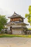 Tsukimi Yagura of Okayama Castle, Japan. Important Cultural Prop. Original Tsukimi Yagura turret (circa 1597) of Okayama Castle in Okayama, Japan. Important Royalty Free Stock Images