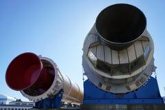 Tsukuba Space Center H-II Launch Vehicle. Ibaraki, Japan-February 12, 2017:The Japan Aerospace Exploration Agency JAXA was designated as a core performance Royalty Free Stock Images