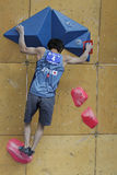 Tsukuru Hori - escalador japonés Foto de archivo libre de regalías