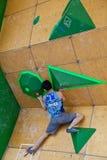 Tsukuru Hori, qualification bouldering de Vail Image libre de droits