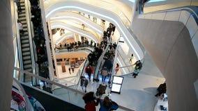 TSUM Central Department Store in Kiev, Ukraine, stock video