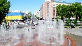 TSUM Central Department Store in Kiev, Ukraine, stock video footage