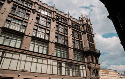 TSUM - Central Department Store. A popular touristic landmark in Moscow Royalty Free Stock Images