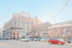 TSUM Shopping mall in Moscow city center. Stock Photography