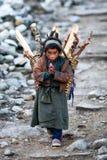 Tsum valley, Nepal Royalty Free Stock Image