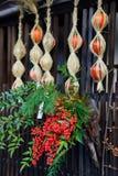Tsumago-juku em Kiso, Nagano, Japão imagem de stock