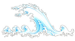 Tsunami Royalty Free Stock Image