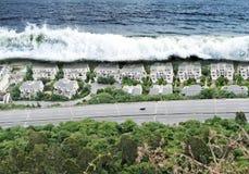 tsunami photos libres de droits
