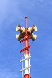 Tsunami Alert Loudspeakers Stock Photos