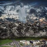 Tsunami de piedra Imagen de archivo libre de regalías
