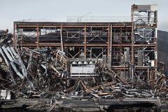Tsunami Japón Fukushima 2011 Fotografía de archivo libre de regalías