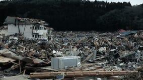 Tsunami Japan Fukushima 2011 stock video