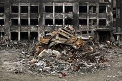 Tsunami japan 2011 fukushima. Consequences of the tsunami in Japan in 2011, Fukushima, 03/30/2011 Stock Image