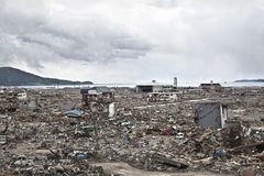 Tsunami Japon Fukushima 2011 Photos stock