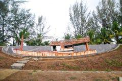 Tsunami memorial Royalty Free Stock Image