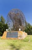 Tsunami memorial in a park Royalty Free Stock Photography