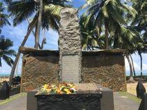 Tsunami monument Stock Images