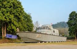 Tsunami Police Boat 813 (Buretpadungkit) Stock Image