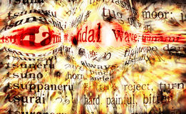 Tsunami Tidal Wave Stock Photos