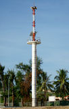 The tsunami warning tower in Thailand Stock Image