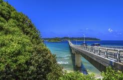 Tsunoshima桥梁 免版税库存图片