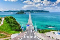 Tsunoshima Ohashi Bridge Stock Photography