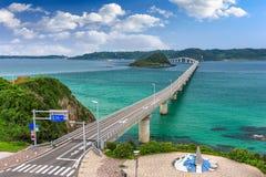 Tsunoshima Ohashi Bridge Stock Images