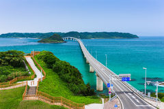 Tsunoshima Ohashi Bridge Stock Photography