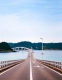 Tsunoshima Ohashi - Yamaguchi - Japan arkivfoton