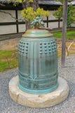 Tsurigane在Ninomaru宫殿的寺庙响铃在京都,日本 库存照片