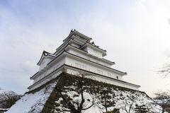 Tsuruga Castle Stock Photo