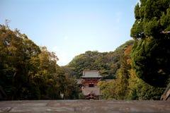 Tsurugaoka Hachimangu, Kamakura, Japan Stock Image
