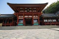 Tsurugaoka Hachimangu relikskrin, Kamakura, Japan Royaltyfria Bilder
