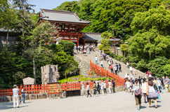 Tsurugaoka Hachimangu Shrine Stock Photography