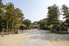 Tsurugaoka Hachimangu shrine, Kamakura, Japan Stock Photography
