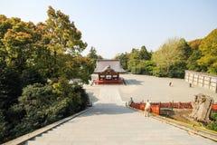 Tsurugaoka Hachimangu shrine, Kamakura, Japan Royalty Free Stock Photos