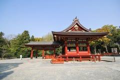 Tsurugaoka Hachimangu shrine, Kamakura, Japan Stock Image