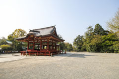Tsurugaoka Hachimangu shrine, Kamakura, Japan Royalty Free Stock Photography