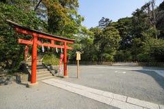 Tsurugaoka Hachimangu shrine, Kamakura, Japan Royalty Free Stock Photography