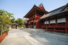 Tsurugaoka Hachimangu shrine, Kamakura, Japan Stock Images